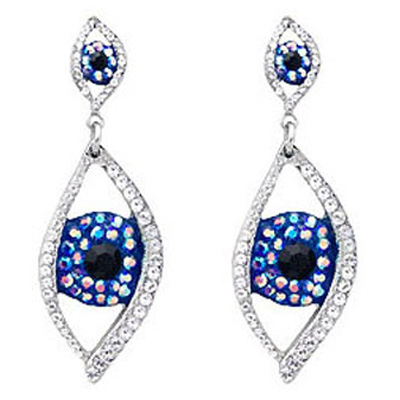 e543184b7 Butler & Wilson Big Brother Large Eye Drop Earrings